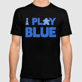 Show Your Game Color - Blue T-shirt