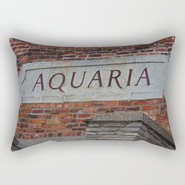 Toledo Zoo Aquaria Rectangular Pillow