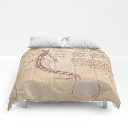 Anatomy of the Mermaid Comforters