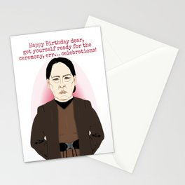 Aunt Lydia, wishes you a happy birthday Stationery Cards