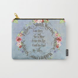 I am hers and she is mine. GOT Wedding Vows Carry-All Pouch