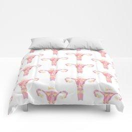 Royal Uterus Pattern Comforters