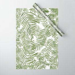 Areca Palm Pattern Wrapping Paper