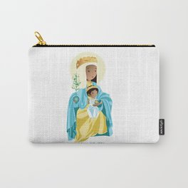 La Moreneta. Virgin of Montserrat Carry-All Pouch
