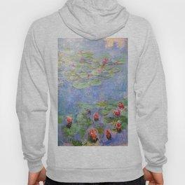 Claude Monet's Water Lilies Hoody