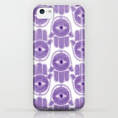Hamsa Violet  Slim Case iPhone 5c