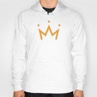 crown Hoodies featuring Crown by Eman Al.Amir