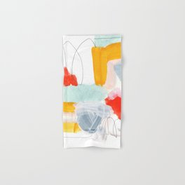 abstract painting XVI Hand & Bath Towel