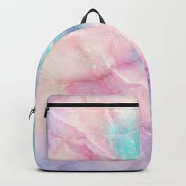Iridescent marble Backpack