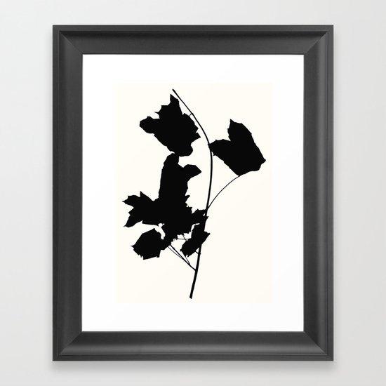 maple 1 Framed Art Print