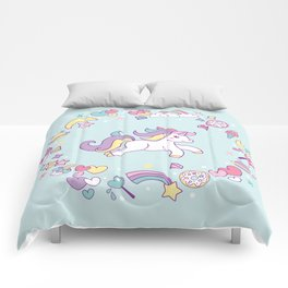 Unicorn Dreams Comforters