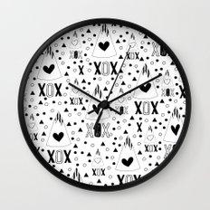 X.O.X. Wall Clock