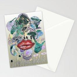 Magic mushroom Stationery Cards