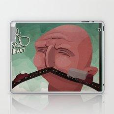 Mustache speed Laptop & iPad Skin