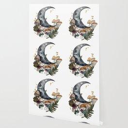 Mushroom Moon Wallpaper