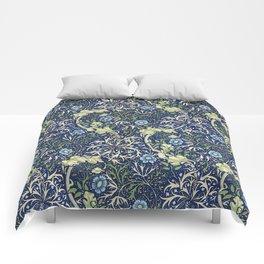William Morris Blue Daisies Comforters