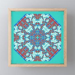 "CA Fantasy ""For Tiffany color"" series #9 Framed Mini Art Print"