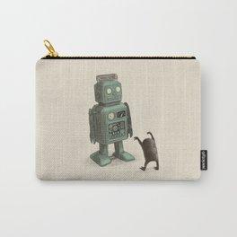 Robot Vs Alien Carry-All Pouch