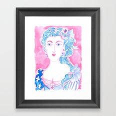 Marie A Framed Art Print