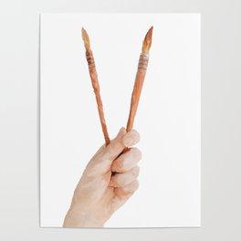 ART HAND Poster