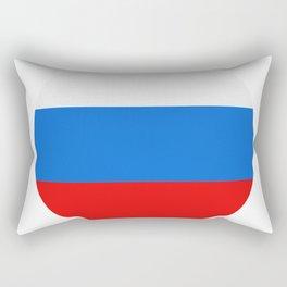 Russia flag Rectangular Pillow