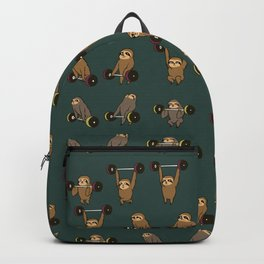 OLYMPIC LIFTING SLOTHS Backpack