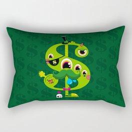 MO' MONEY. NO PROBLEMS. Rectangular Pillow