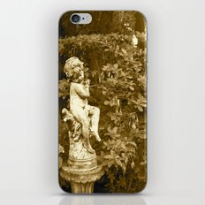 Irish Garden Statue  iPhone & iPod Skin