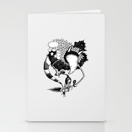 Imaginary Fiend Stationery Cards