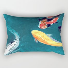 Water Ballet Rectangular Pillow