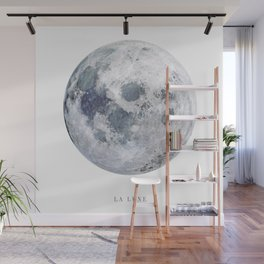 La Lune Wall Mural