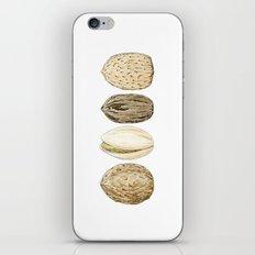 Edible Nuts iPhone & iPod Skin