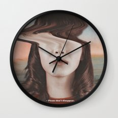 Please don't disappear Wall Clock