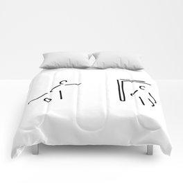 footballer soccer player Comforters