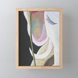 Yuko Nagamori | ShiroiYume - white dream - Framed Mini Art Print