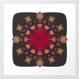 Fleuron Composition No. 157 Art Print