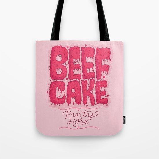 Beef Cake Tote Bag