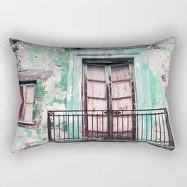 Facade - Taormina - Sicily Rectangular Pillow