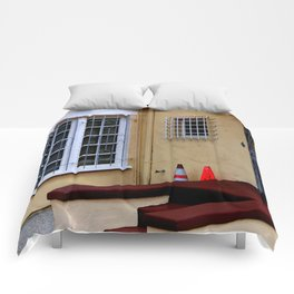 Caution - Break-ins Not Advised Comforters