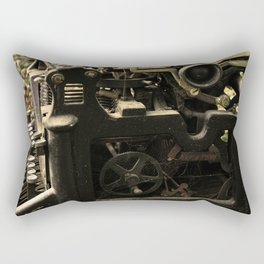 Old Typer Rectangular Pillow