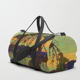 Tom Thomson The Jack Pine 1916-1917 Canadian Landscape Artist Duffle Bag