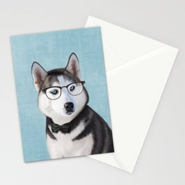Mr Husky Stationery Cards