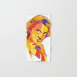 Rosalind Franklin by Aitana Pérez Hand & Bath Towel