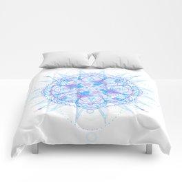 Jagged Circumference Comforters