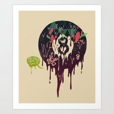 Bad Omen Art Print