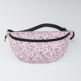 Pacify Me Pink Fanny Pack