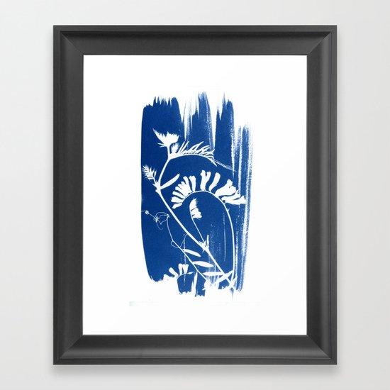 Herbal Sunprint #3 Framed Art Print