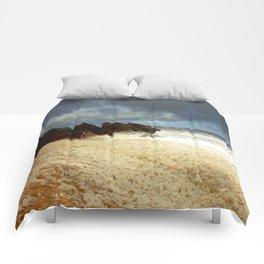 Foaming Residue Comforters