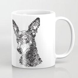 Miniature Pinscher Mosiac Coffee Mug