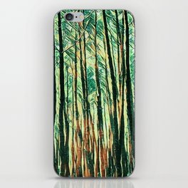 tree of paint iPhone Skin